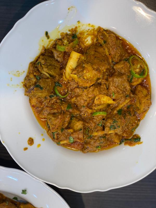 Lamb Black pepper karahi