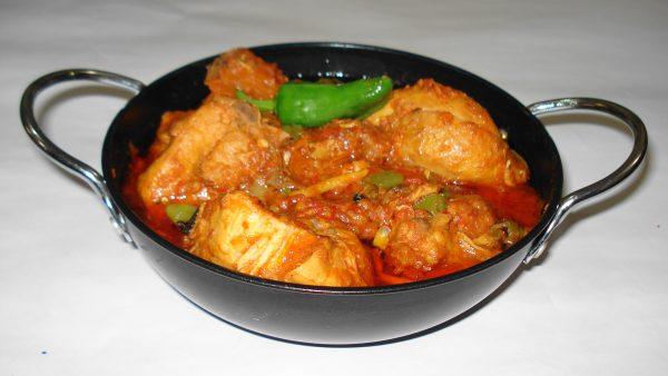 chicken chilli karai